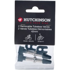 Ниппеля Hutchinson на бескамерку х2 Hutchinson LOT DE 2 VALVES TUBELESS 42 MM