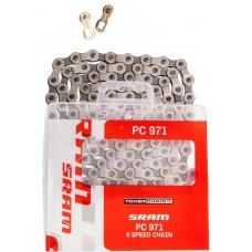 Цепь Sram PC971 06 CN PC971 114LI W/ PWR.LNK 9SPD 1PC