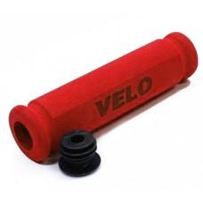 Ручки руля Velo VLG075ARD,117 мм, красный