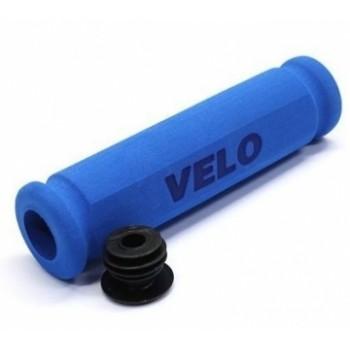 Ручки руля Velo VLG075ABL,117 мм, голубые
