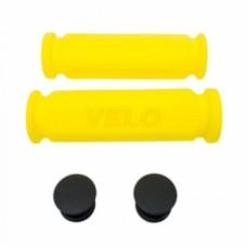 Ручки руля Velo VLG-075AYL,117 мм, желтый