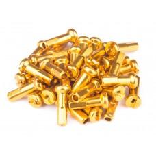 Ниппели FireEye ALU 7075 2/14 мм, 38 шт. в комплекте для спиц , цвет - золотой
