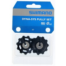Ролики заднего переключателя Shimano Deore XT RD-M773 комплект: нижний + верхний
