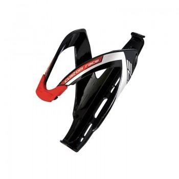 Флягодержатель ELITE CUSTOM RACE, черный/красный, глянцевый