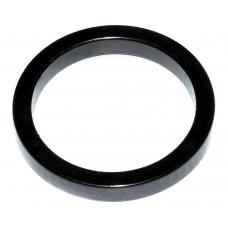 Кольцо для рулевой колонки 5мм, алюм., черн., 10 шт