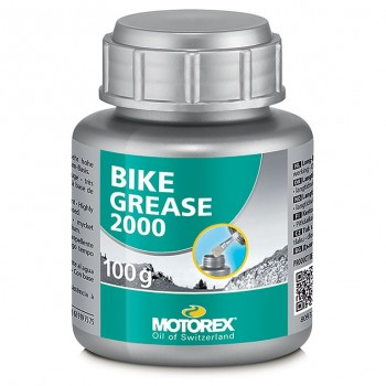 Смазка Motorex Bike Grease2000 густая, от -30 до +120°С, зеленая, 100 г