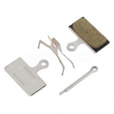 Тормозные колодки Shimano G02А для XT/SLX BR-M8000/987/785. полимер/resin