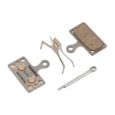Тормозные колодки Shimano G04TI для XT/SLX BR-M8000/987/785. металл