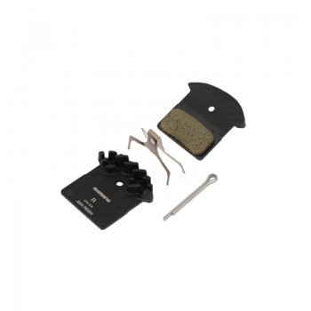 Тормозные колодки Shimano  J02А+радиатор для XT/SLX BR-M8000/985/785. полимер/resin