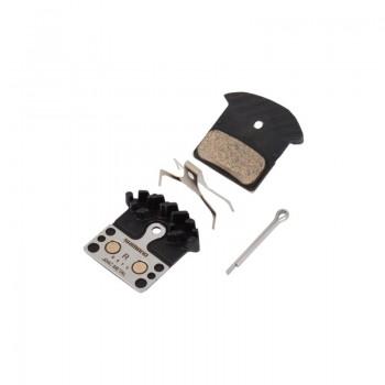 Тормозные колодки Shimano  J04C+радиатор для XT/SLX BR-M8000/985/785. металл